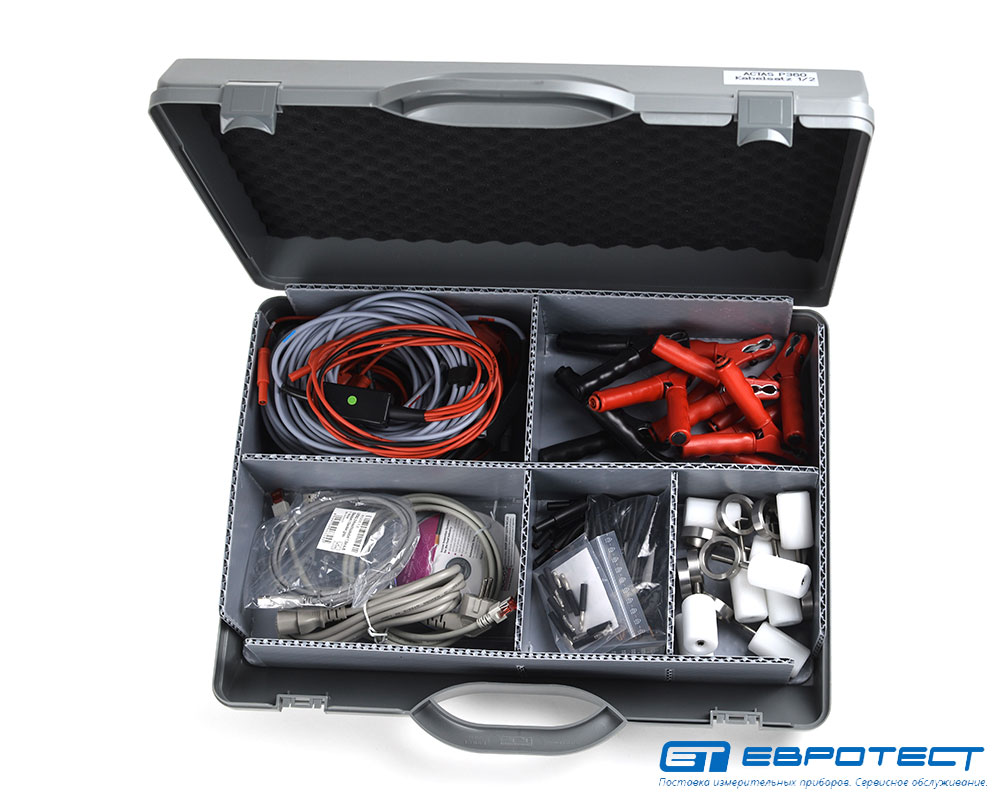Наборы стандартных кабелей для ACTAS P260/P360
